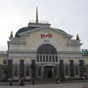 Железнодорожные вокзалы Льва Толстого